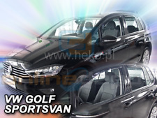 Wind Deflectors VW GOLF VII SPORTSVAN 5 doors since 2013 4 pc HEKO Tinted