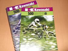 Kawasaki H1 H1D 500cc 1973 Parts Manual & Sales Brochure.