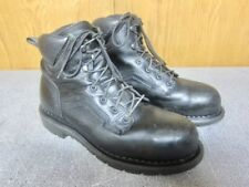 """Red Wing Mens 6"""" Boots Size 11 D M Black Steel Toe Waterproof Work #3523 USA"""