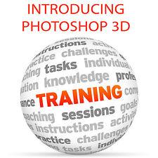 Introducing PHOTOSHOP 3D - Video Training Tutorial DVD