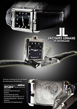 Jacques Lemans unisex REVERSE OROLOGIO SWISS MADE stravagante