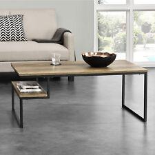[en.casa]® Couchtisch 110x60x45cm Wohnzimmertisch Beistelltisch Ablage Holzoptik