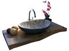 Waschbecken aus Marmor, Granit, Aufsatzbecken, Model Monaco 56cm, Juparana