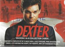 Dexter Seasons 5 & 6 Factory Sealed Card Box 2 Hits Autograph Costume or Prop