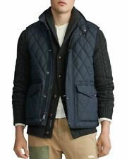Polo Ralph Lauren Iconic Quilted Vest Navy Blue Men's Size Large L New NWT ⭐️