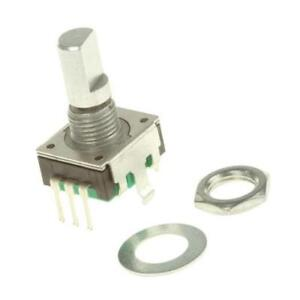 1 x Bourns 24 Pulse Rotary Encoder PEC11R-4215F-S0024 6mm Flat Shaft Not Indexed