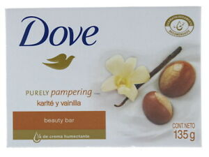 Lot of 12 Dove Purely Pampering Shea Butter Beauty Cream Bar Soap New