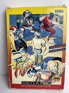 Sega CD Video Game Final Fight CD Complete In Box