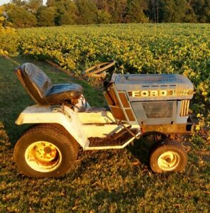 Ford lgt14D Diesel Lawn Mower / Tractor *SELLING PARTS*
