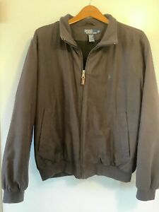 Polo Ralph Lauren Mens Jacket Chocolate Brown Large