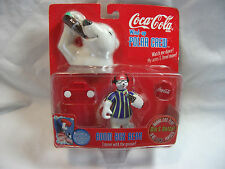 COCA COLA POLAR BEAR WIND UP ~BOOM BOX BEAR~ 1998 MIP Factory Sealed