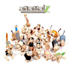 All Natural Anamalz Toy Farm Animals 24PCS New