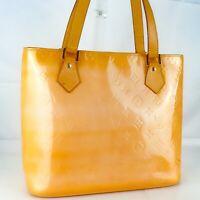 LOUIS VUITTON HOUSTON Shoulder Bag Purse Monogram Vernis M91054 Rose