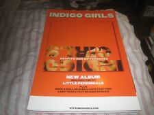 INDIGO GIRLS-(despite our differences)-1 POSTER-11X17 INCHES-NMNIT-RARE!!!!!
