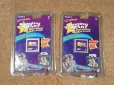 Singing Starz Video Karaoke Machine Cartridge Vol. 1- 2 Brand New