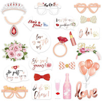 Wedding Photo Booth Props Engagement Photography Party Decoration Selfie NEW