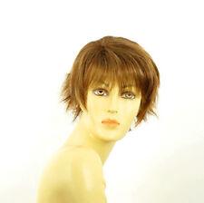 wig short for women brown copper wick light blond ref VALENTINE 6bt27b PERUK