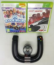 F1 Race Stars + Need For Speed Most Wanted Xbox 360 + Rueda de velocidad inalámbrica