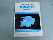 1980 FORD MUSTANG FAIRMONT GRANADA THUNDERBIRD LTD EGR SYSTEMS SHOP MANUAL