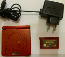 Nintendo Game Boy Advance SP pokemon groudon edition  AGS001 + 1 pokemon rubino
