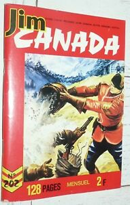 PETIT FORMAT IMPERIA JIM CANADA N°202 1975 SERGENT POLICE MONTEE TUNIQUES ROUGES