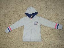 Nautica Girls Gray Hoodie - Size XL (6X) - NWT