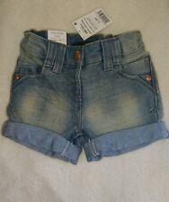 BNWT Next Girls Denim Look shorts 1 1/2-2years Height 92 cm