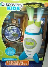 Discovery Kids Projection Rocketship Alarm Clock celestial galaxy astronaut Xmas
