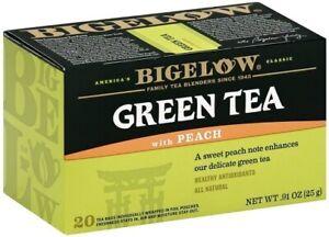 Bigelow Green Tea with Peach