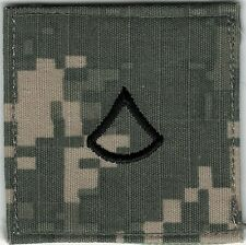 ACU Army E3 PFC Private 1st Class Rank Insignia Not MILSPEC Movie Prop Patch