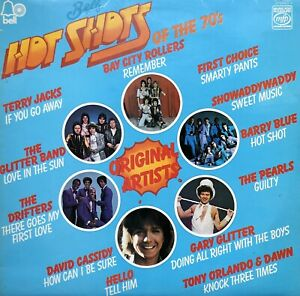 BELLS HOT SHOTS OF THE 70'S MFP LP VINYL RECORD GLITTER BAND BAY CITY ROLLERS