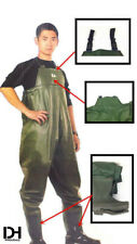 Rubber Waterproof Fishing Wader with Boots High Elastic Marine Glue