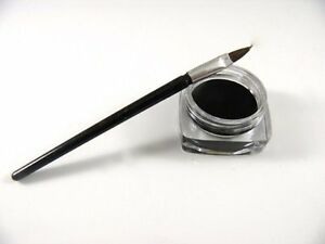 New Black Waterproof Eye Liner Eyeliner Gel Makeup Cosmetic + Brush