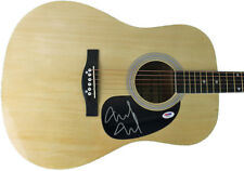 Mike McCready PEARL JAM Signed Autographed Acoustic Guitar PSA/DNA COA Jeremy