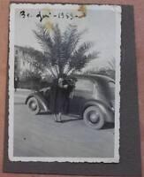 FOTOGRAFIA BENGASI LIBIA BENGHAZI AFRICA ITALIANA EMIGRAZIONE 1939 VOLKSWAGEN