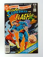 DC COMICS PRESENTS #1 DC Comics Chase to the End of Time Superman/Flash VF+ 1978