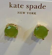 Kate Spade Gumdrop Earrings In Neon Green . X3