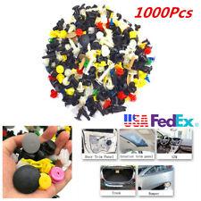 1000Pcs Car Door Trim Panel Clip Auto Fastener Bumper Rivet Push Engine Cover