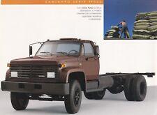 CHEVROLET CAMINHAO SERIE 14000 LKW Prospekt Brochure Sheet BRASILIEN 1991 /55