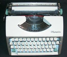 RARE VINTAGE 1965 OLYMPIA S.F.DELUXE MANUAL CURSIVE TYPEWRITER-ORIGINAL OWNER