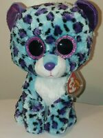 Ty Beanie Boos  LIZZIE the Leopard (8-9 Inch) Buddy Medium Size Claires Excl NEW
