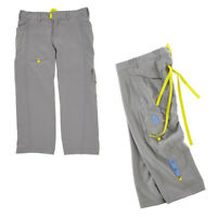 Zumba Dance Fitness Fade Cargo Capri Pants - Grey or Blue- All Sizes! - NWT!