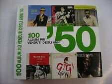 I 100 ALBUM PIU' VENDUTI DEGLI ANNI '50 - LIBRO WHITE STAR FUORI CATALOGO