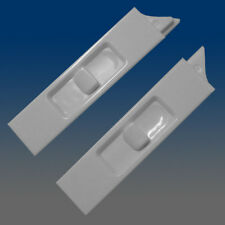 Set of 2 White Recessed Window Sash Tilt Latches 1-left & 1-right 7380RB