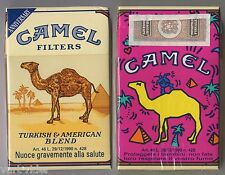 CAMEL FILTERS cigarette Italy empty pack ANNIVERSARY 1993 #6 Proteggete i bam...