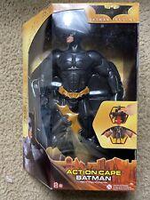 "Batman Begins Action Cape Batman 12"" Action Figure Mattel 2005 Nib"