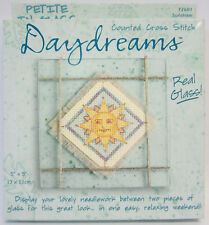 New Daydreams Sunshine Counted Cross Stitch Embroidery Kit with Instructions