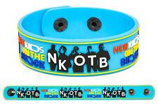 New Kids On The Block wristband rubber bracelet