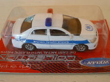 WELLY 1/64 TOYOTA COROLLA POLICE (VERY RARE)