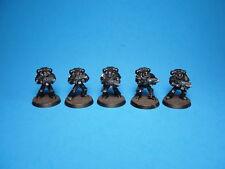 GW WH40K Horus Heresy MKIV Space Marines x5 Painted Plastics bb